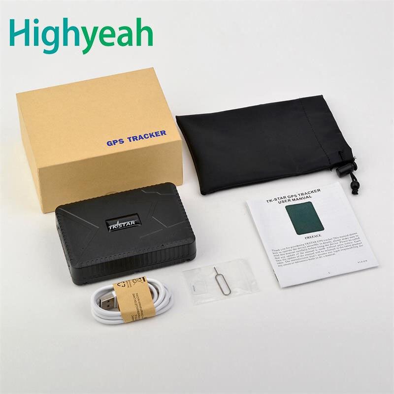 TKstar TK915 voiture GPS Tracker véhicule GPS localisateur 120 jours en veille 10000 mah batterie étanche aimant APP à distance moniteur vocal