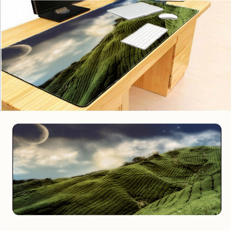 Mairuige Mountain Top Games Great Game Keyboard Free Shipping Mouse Pad Game 900 * 300 Big Player Computer Anti-skid Table Mats