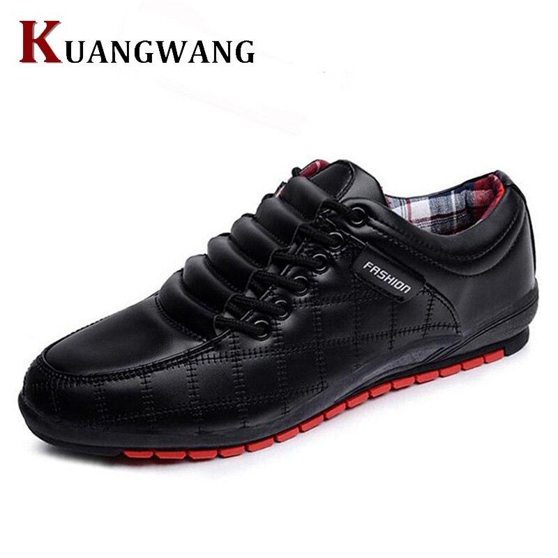 Hot sale men shoes leather man's flats causal fashion men's business dress shoes brand oxford shoes