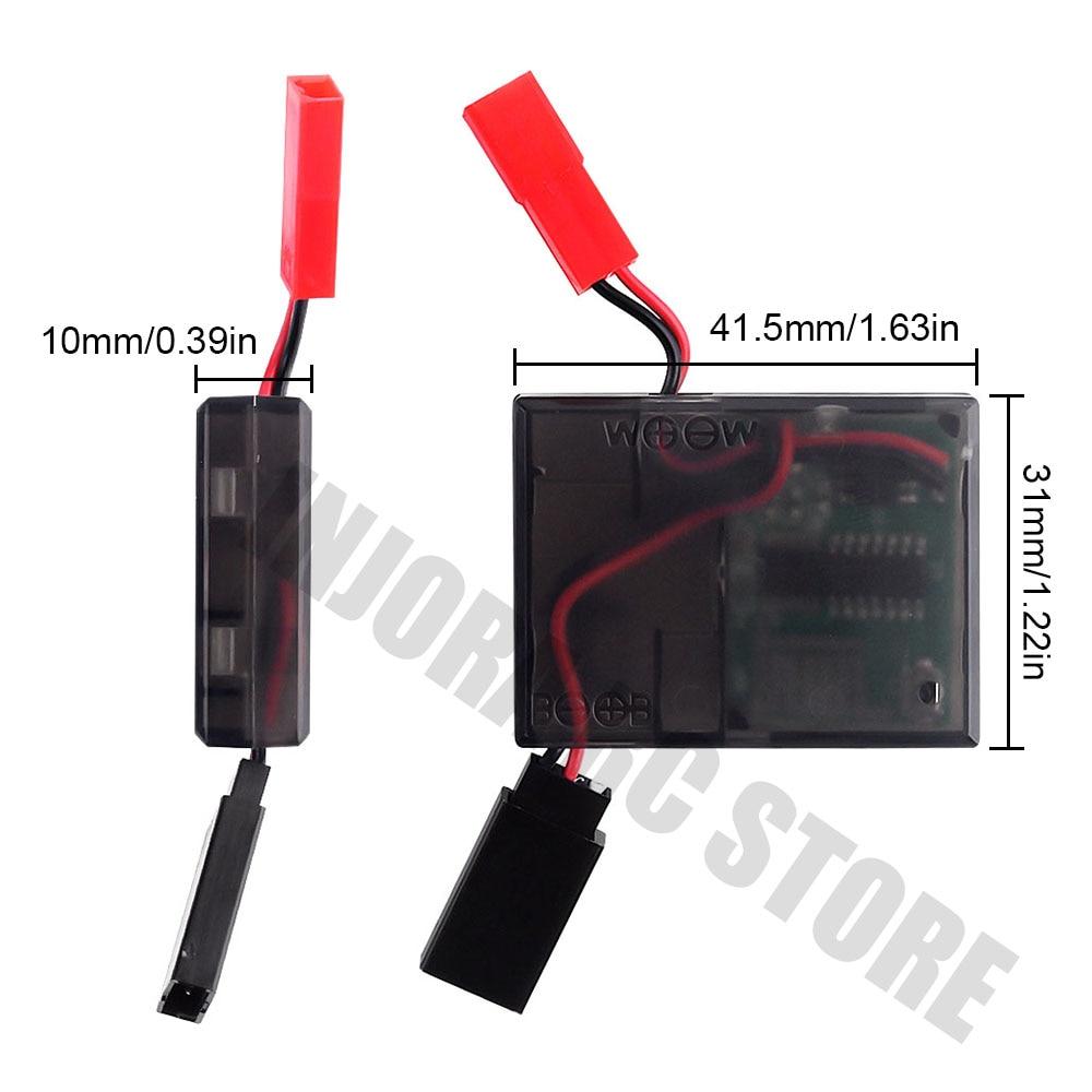 Image 4 - Rc カー電動ウインチワイヤレスリモートコントロール 1/10 RC クローラ場合は受信トラクサス TRX4 軸 SCX10 90046 D90 タミヤ CC01パーツ & アクセサリー   -