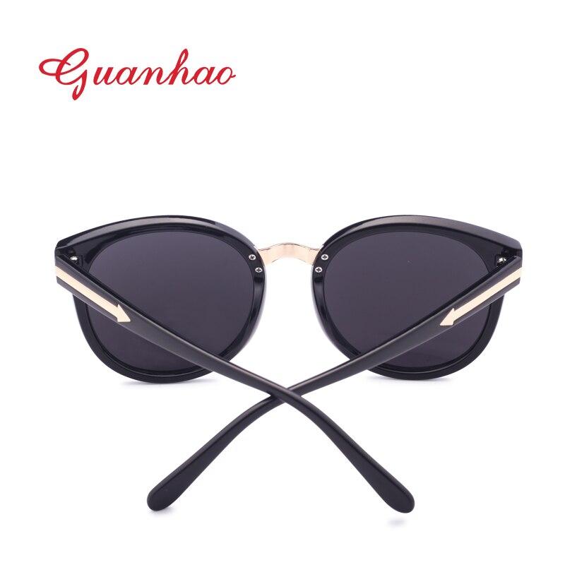 Guanhao 2018 Kacamata Hitam Wanita UV400 Perlindungan Lihat Perancang Wanita  Wanita Wajah Bulat Baru Modis Merek Kacamata AC Lensa Buah Bingkai di  Kacamata ... 1933844308
