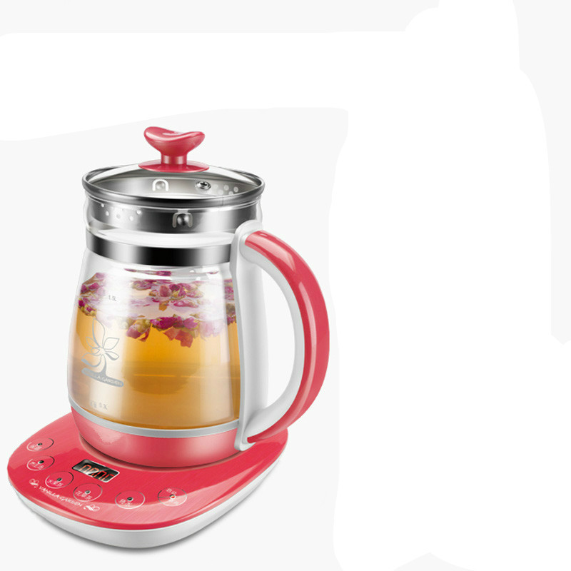 Electric kettle Health pot full automatic multi-function thickening glass 1.5l reappointment time electric boiled fruit teapot bear 220v electric kettle multifunctional health preserving pot decocting of tea glass thickened kettles