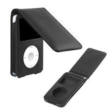 Кожаный чехол для Apple iPod Classic 80/120/160GB со съемным зажимом