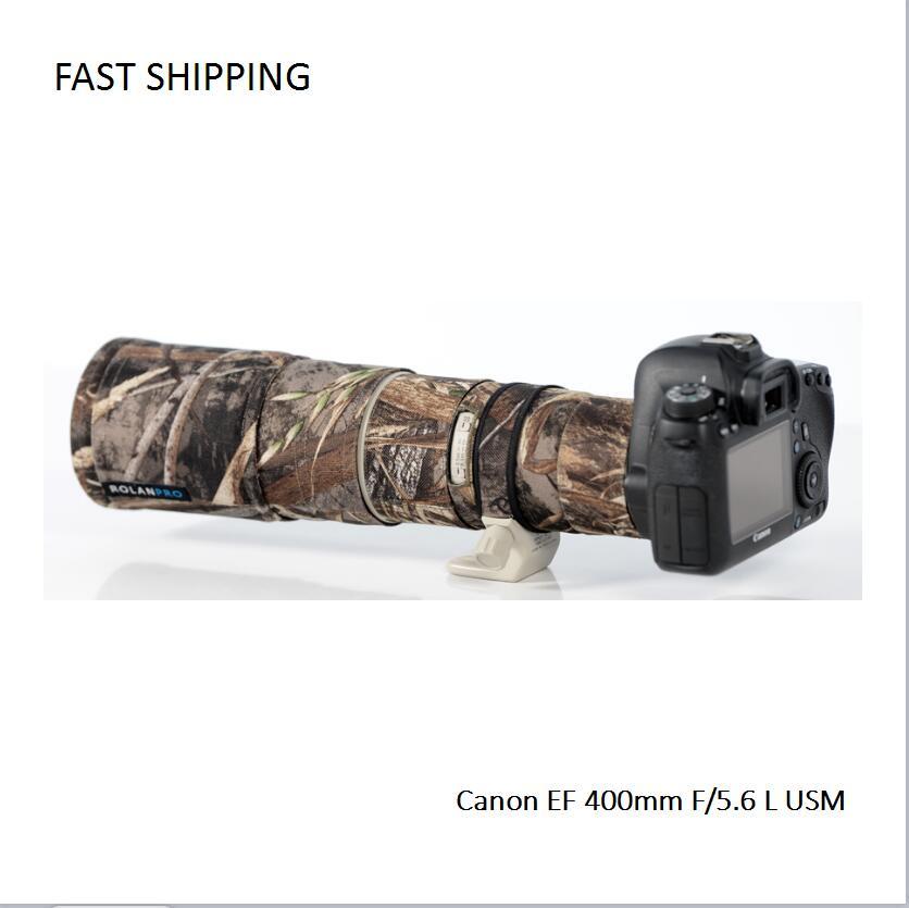 DHL/EMS expédition lentille manteau camouflage pour Canon EF 400mm F/5.6 L USM pistolet vêtements lentille protection pt0015
