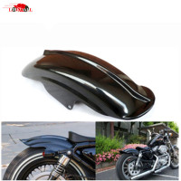 Motorcycle Rear Fender Mudguard for Harley Sportster XL Solo Cafe Racer Bobber Chopper