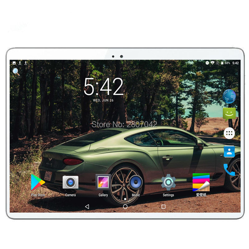 S106 Android 9.0 Honorable 10.1 Inch 3G 4G LTE FDD Phone Tablet PC 8 Core RAM 6GB ROM 64GB IPS Dual SIM Card Tablets Pcs
