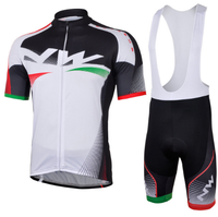 9D Silikon! NW Northwave 2013 #2 bib kurzarm radfahren jersey tragen kleidung fahrrad jersey + bib hosen shorts gel pad