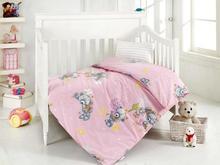 Комплект постельного белья для новорожденных ALTINBASAK, YUMAK, розовый
