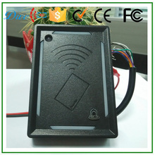 125khz wiegand 26 rfid reader price for door access control the project in residential buildings