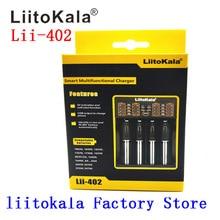 Liitokala lii-202 battery Charger 18650 26650  1.2 V 3.7 3.2 3.85 V, 100% de la original LiitoKala factory lii202