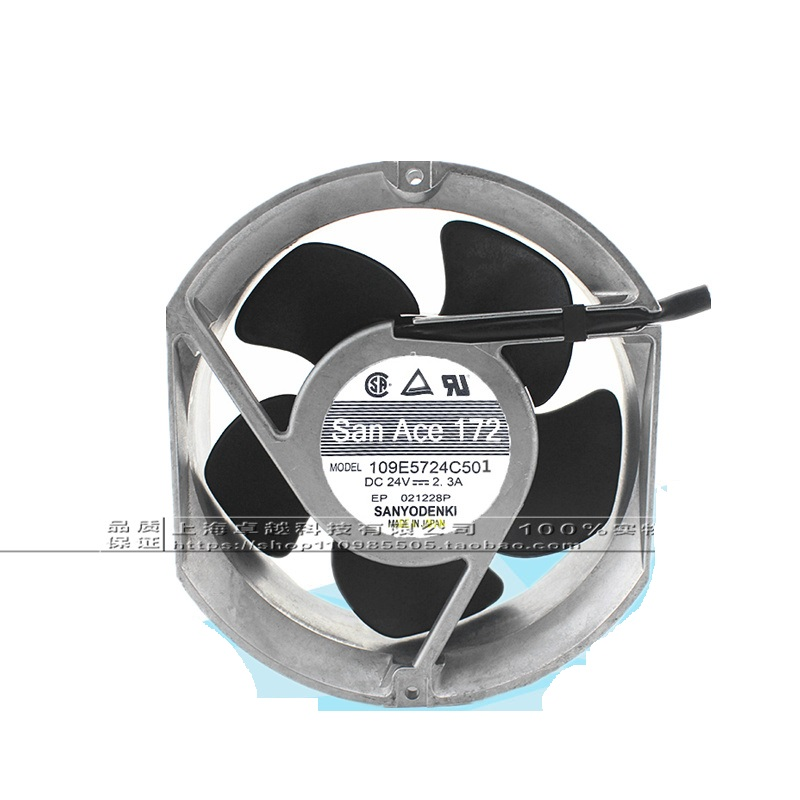 New original 109E5724C5D01 fan DC24V 2.3A 17cm inverter fan new original nmb 4715sl 05w b60 dc24v 1 2a 12038 inverter waterproof cooling fan