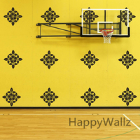 DIY Wall Sticker Decorative Flower Wall Decal Removable Easy Wall Art Modern Wall Decors Living Room P53