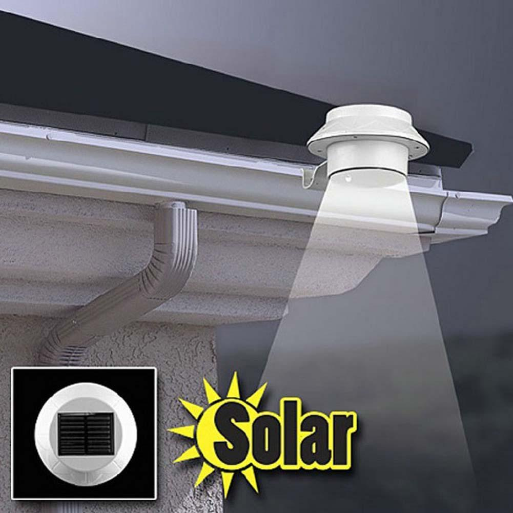 Us 3 74 35 Off Waterproof Led Solar Lamp Ed Outdoor Lighting Porch Yard Wall Light Automatic Sensor Aisle Doorway In