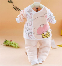 2016 new aby girl clothes newborn autumn & winter baby clothing baby born suit long sleeve baby kleding infant clothing set