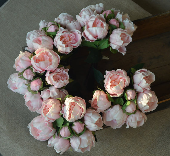 Aliexpress buy blush pink peonies real touch flowers for silk aliexpress buy blush pink peonies real touch flowers for silk bridal bouquets bridesmaids wedding flowers centerpieces from reliable touch flower mightylinksfo