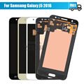 5 pçs/lote para samsung galaxy j5 2016 j510f display lcd touch screen digitador assembléia azul ouro dhl livre