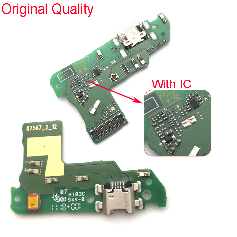 For Huawei Y6 Prime 2018 /Y6 2018 /Honor 7A USB Charging Charge Connector Plug Dock Port Board Repair Parts