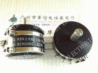 [[BELLA]Used BEI DUN 2501 R5K conductive plastic potentiometer angle sensor [WDD35] 1PCS