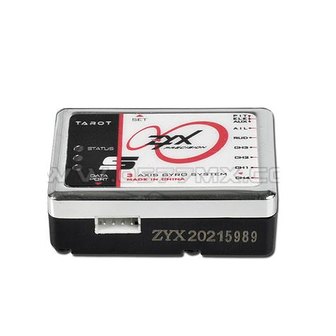 Tarot ZYX08 ZYX-S Programmable 3-Axis Flybarless Gyro System 200-700 Helicopter