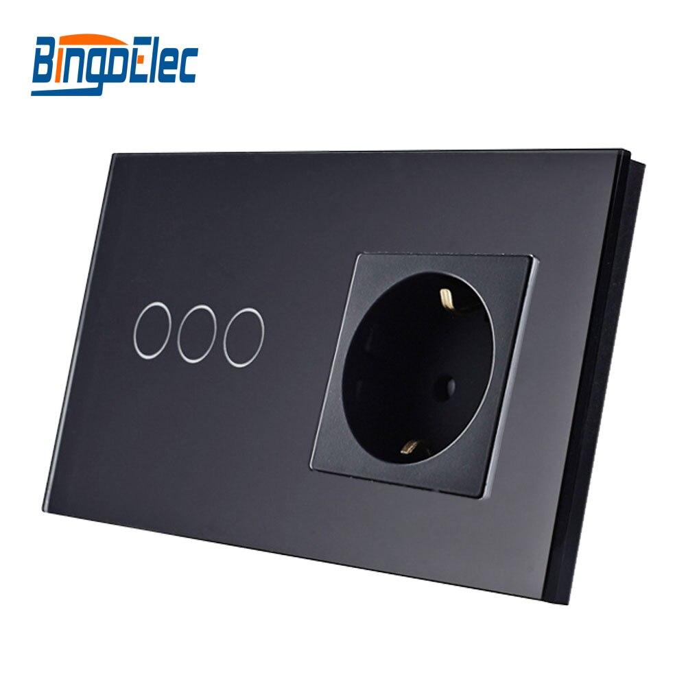 3G1W-GM-Socket-Black