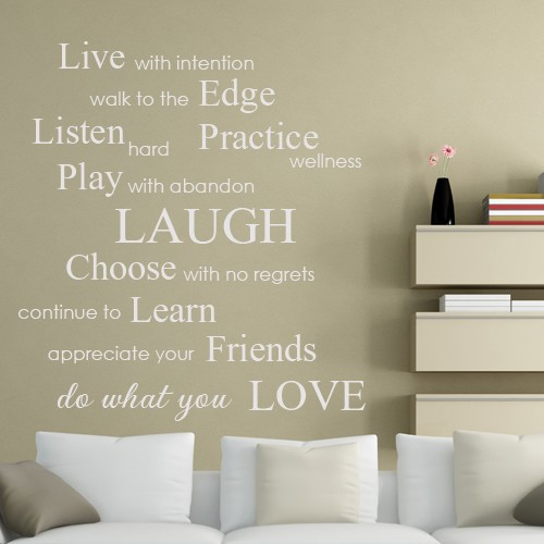 Live With Intention Do What You Love Inspirational Phrases Beauteous Inspirational Phrases