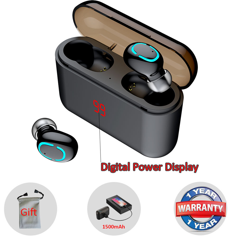 Mini Earphone Bluetooth Earbuds Wireless in Ear buds new Q32 Mini Hands free headset for Android phone tws Running Stereo mic