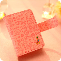 The Giraffe Graffiti Notebook Cute PU Leather Schedule Book Diary Planner Notebook School Office Supplies Kawaii
