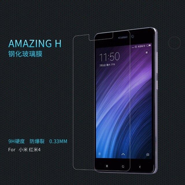NILLKIN Amazing H Nanometer Anti-Explosion Tempered Glass Screen Protector film for xiaomi redmi 5A