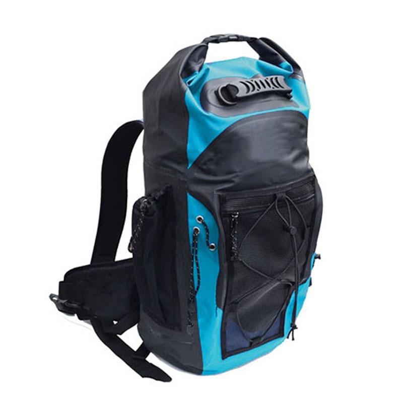 30L Waterproof Backpack Dry Bag Swimming Bag Adjustable Shoulder Strap Floating Dry Sack for Sailing Floating Boating Rafting