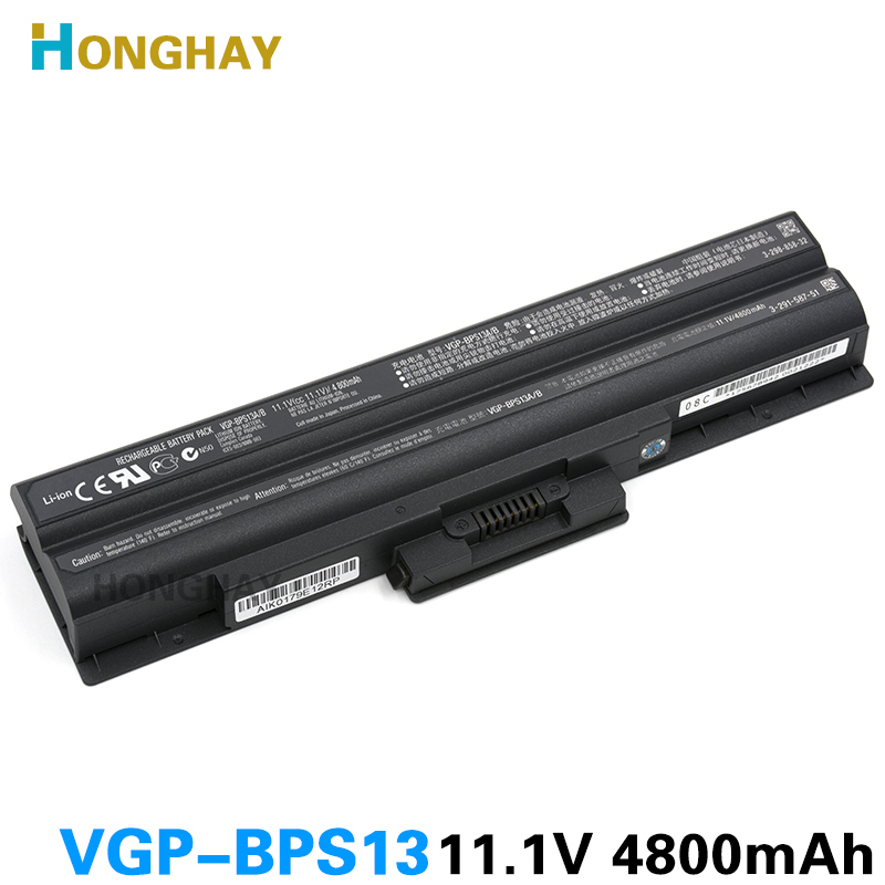 NEW original VGP-BPS13A/B Battery For SONY Vaio VGN-AW VGN-CS VGN-FW VGN-NS VGN-NW BPS13/B VGP BPS13/Q VGP-BPS13B/B VGP-BPS13/B