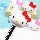 4 Pcs/set Lovely Cartoon Kawaii Hello Kitty Plastic Pencil Sharpener For Kids Gift Novelty Item School Supplies