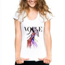 WVIOCE Summer Top Shirts Women T Shirt Fashion Princess Print Tshirt Loose Plus Size T-shirt Tees White Tops