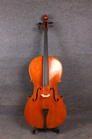4 4 Size Cello Acoustic Cello Bag Bow Hand Made Flamed Maple Back Spruce Top 613
