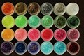 Gorgeous Coloured 24 colors Nail Art Glitter UV Gel Acrylic Nail Gel Polish Makeup Tools