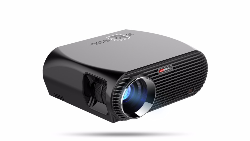 ViviBright GP100 GP100UP Video Smart Android 6.0.1 3200 Lumens Home Theater Projector цена