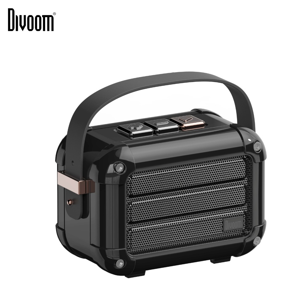 Divoom Macchiato portable wireless bluetooth speaker with FM radio TWS Function gift package support IOS and