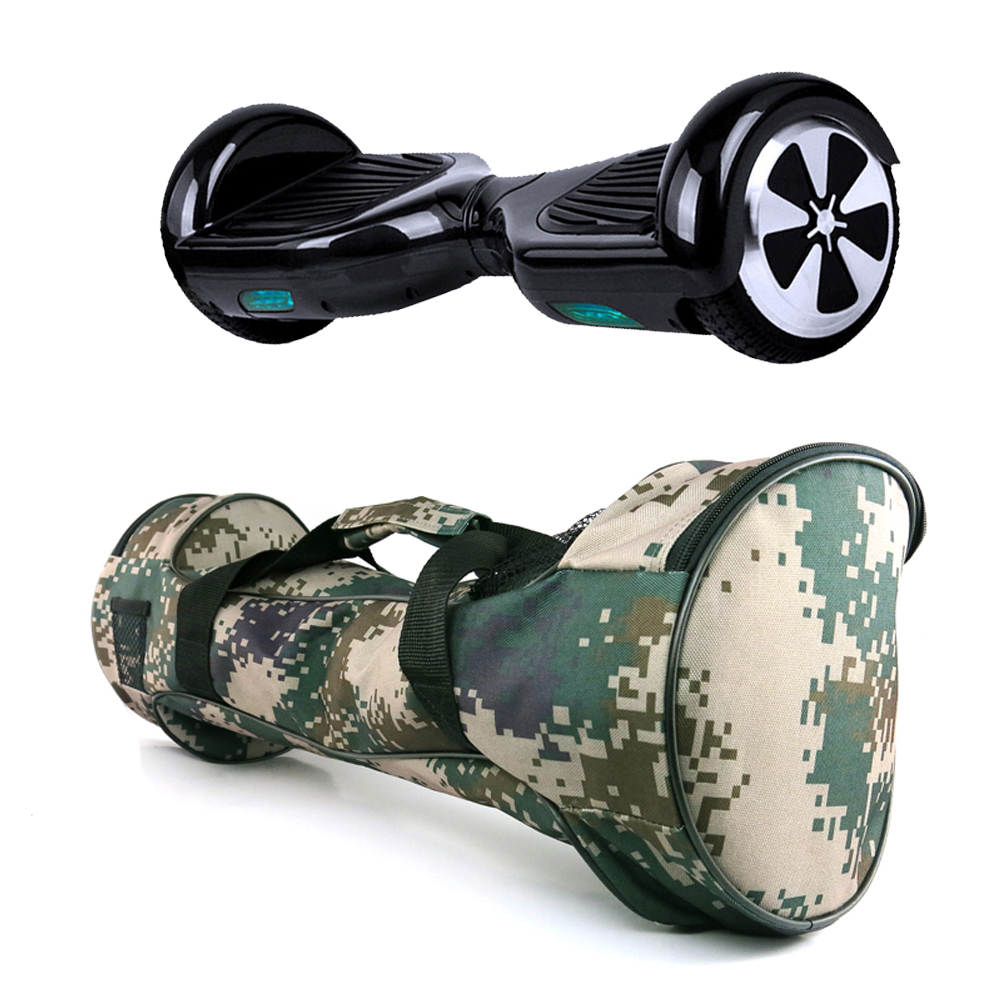 Camouflage Self Balancing Smart HoverBoard Scooter Bag Case Carrying Bag for Electric Scooter 6.5 inch