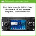 Android dvd-плеер Автомобиля ДЛЯ Chrysler 300C PT Cruiser Dodge Ram Jeep Grand Cherokee С GPS Bluetooth 1 Г CPU