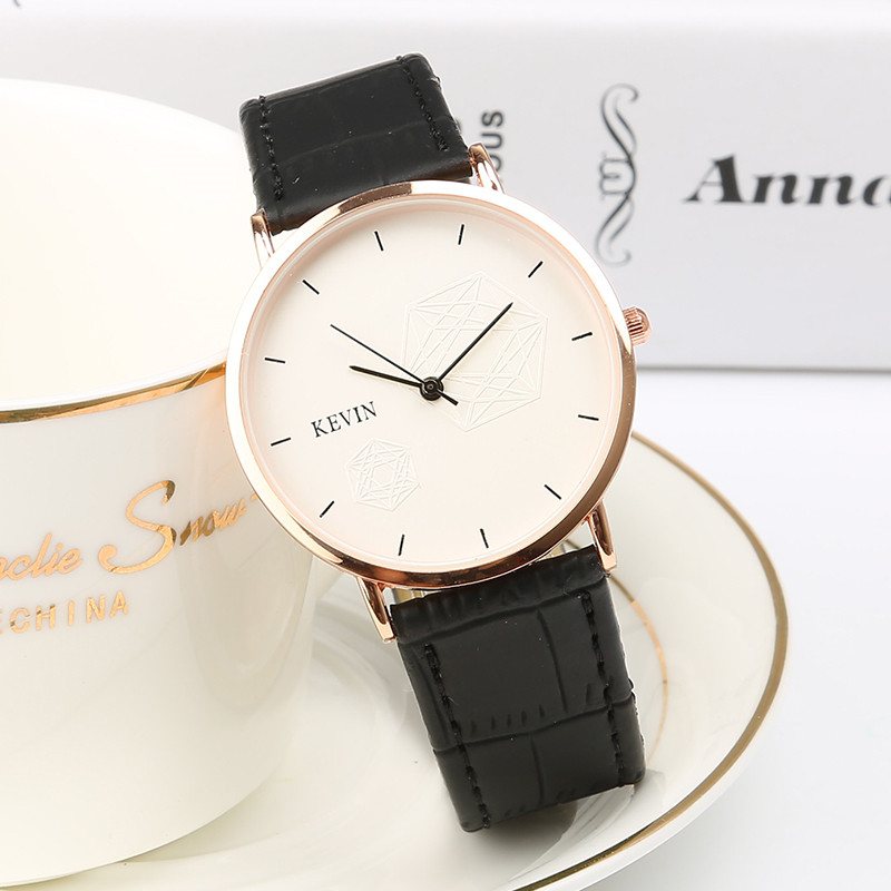 2017 Men's Watches Woman New Luxury Brand Ultra Thin Dial Leather Clock Male Casual Sport Watch Men Neutral Quartz Couple Watch