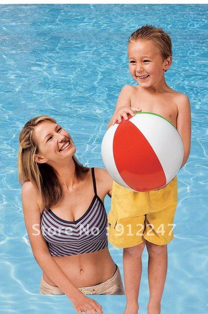 $5 off per $50 order freeshipping Fluorescence panels beach ball intex 59010 Inflatable balls