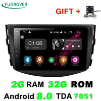Funrover 2g 32g Android 8 0 Car Dvd For Toyota Rav4 2007 2008 2009 2010 2011