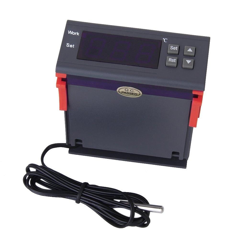 KSOL AC 90 V-250 V Controlador De Temperatura Digital MH1210W Con Pantalla
