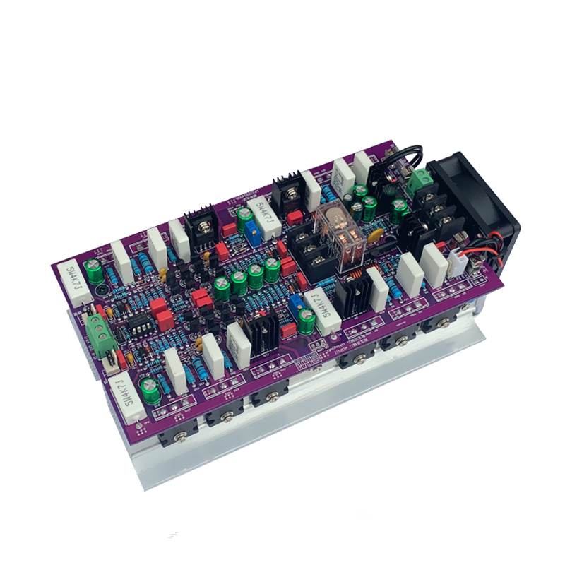 2019 NEW Amplifiers hifi 2 .0 AB class stereo amplifier audio dual channel high amplificador 1200W high power amplifier board