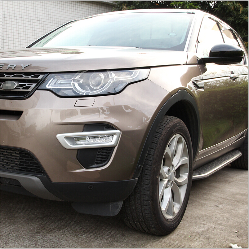 Chrome Exterior Accessories Front Fog Lamp Light Decoration Trim For Land Rover Discovery Sport 2015 2016 Car Styling