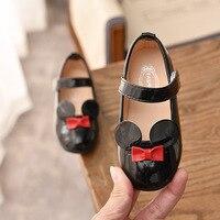 JGSHOWKITO Baby Girl miękkie buty PU buty ze skóry lakierowanej na płaskiej podeszwie dla dziewczynek dzieci małe dzieci Casual mieszkania rozmiar 21 36 buty markowe śliczne w Trampki od Matka i dzieci na