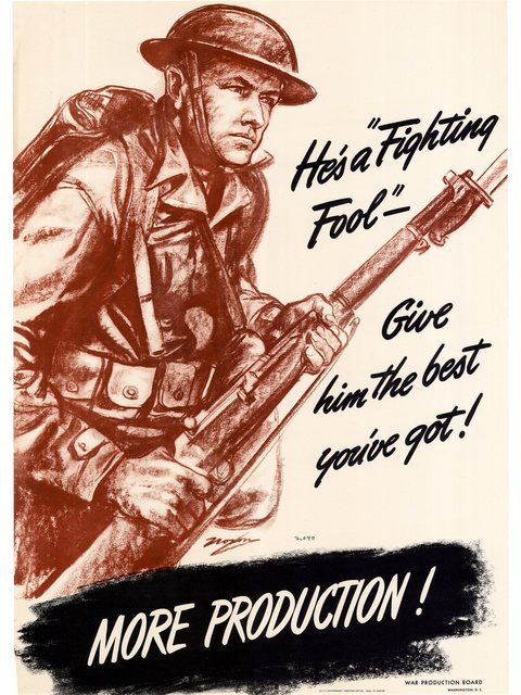 Be A Marine To Fight WW2 America Propaganda Poster Vintage Retro Posters Canvas Painting DIY Wall Paper Home Gift Decoration