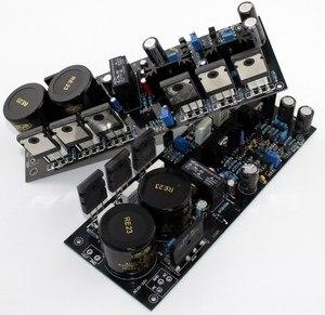 Image 5 - A2 fet 완전 대칭 전력 증폭기 보드 (완성 된 보드 1 쌍) 원본 tt1943/tt5200 사용