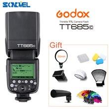 GODOX E TTL TT685C Camera Flash Speedlite 2.4GHz High Speed 1/8000s GN60 for Canon EOS 800D 760D 750D 650D 80D 77D 60D 7D 6D 5Ds