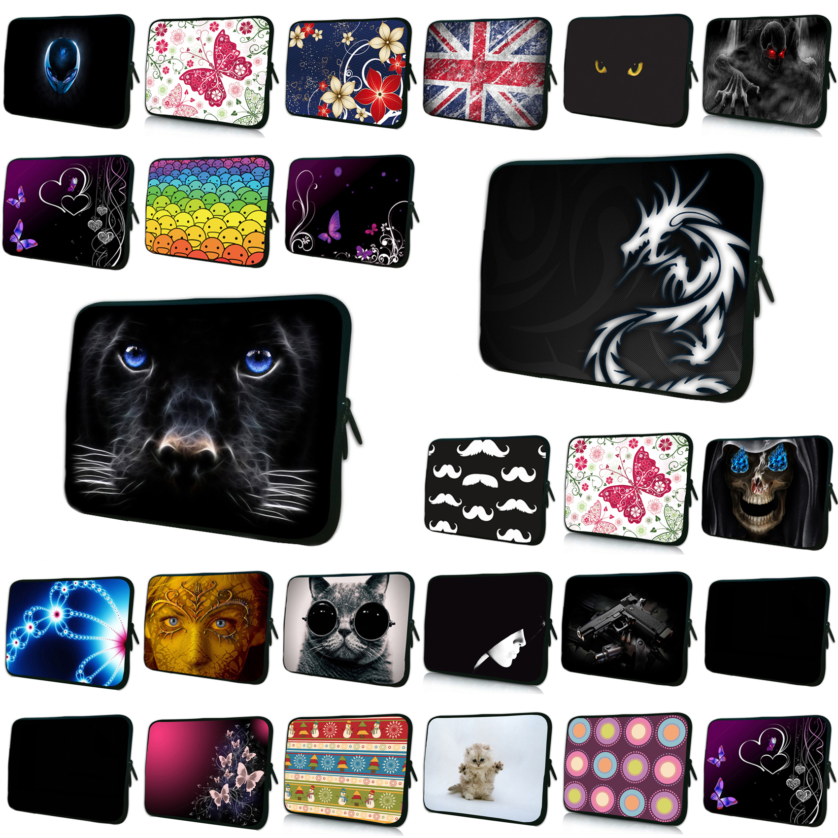 Notebook Laptop PC Inner Bags Cases For 10 11.6 12 13 14 15 15.6 16 17