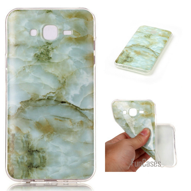 For Samsung J7 Case Silicone Marble Phone Cover For Samsung Galaxy J7 2015 Case J700 J700F Luxury Soft TPU Shiny Back Fundas